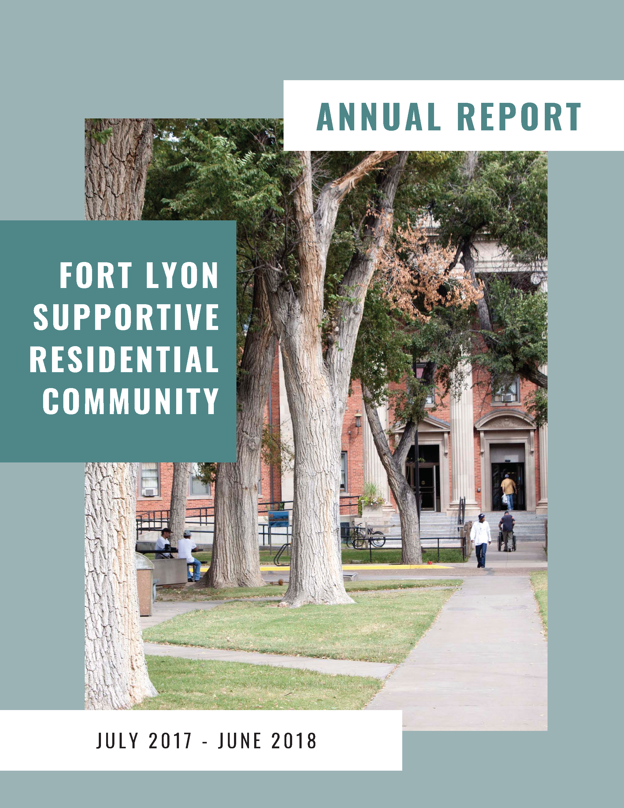 for lyon 2017-2018 annual report cover image