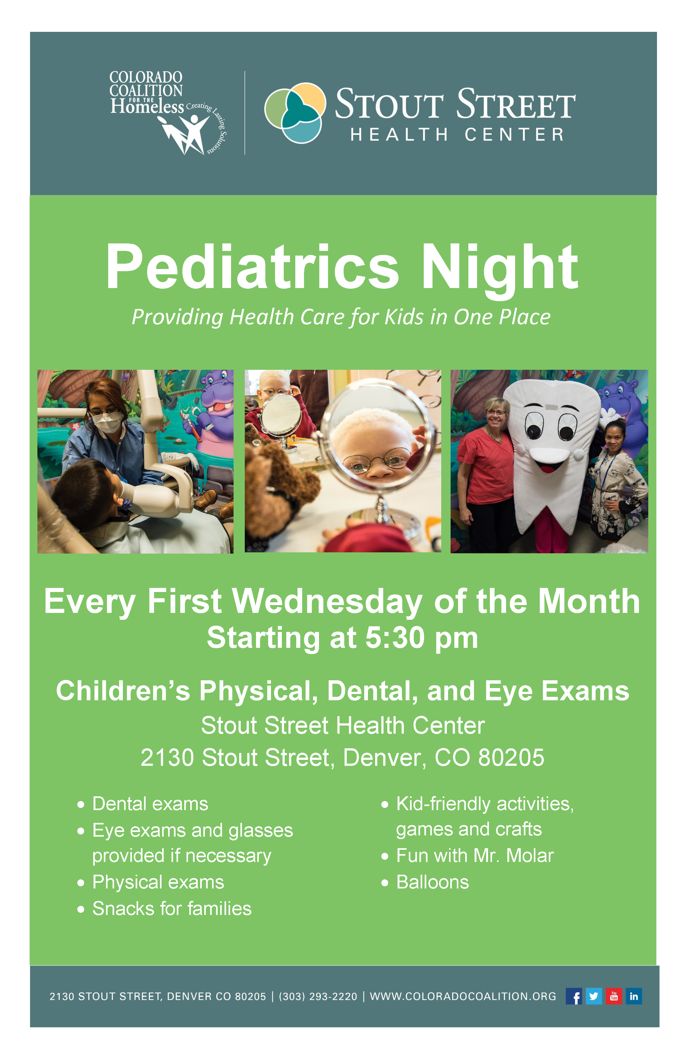 Ped Night Monthly