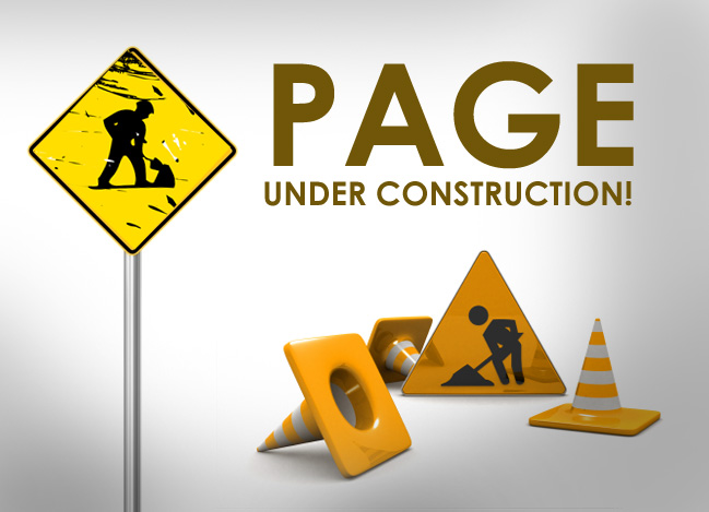 "An ""Under Construction"" graphic for the page."